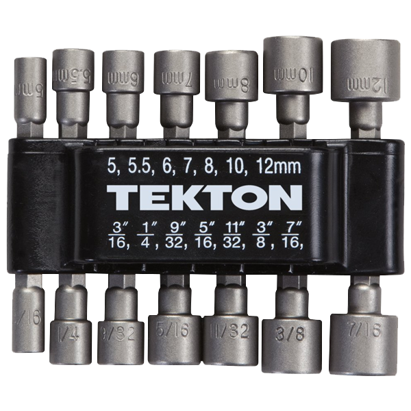 TEKTON 2928 14-Piece Power Nut Driver Bit Set_1